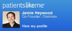PatientsLikeMe member JamesHeywood